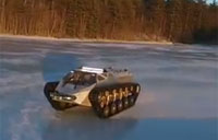 Ripsaw EV2 Drifting On Ice Part 2