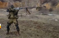 Russian Terminator is Donbass Secret Weapon