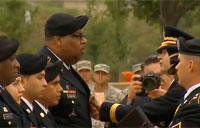 Purple Heart Ceremony at Fort Hood