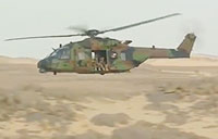 French Tactical Helicopter Low Level Flight