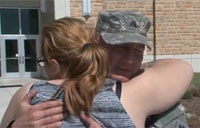 Woman Thanks Guardsman for Saving Life