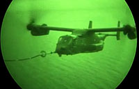 CV-22 Air-to-Air Refueling Mission