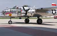 B25 Ceremonial Flight with Doolittle Raiders