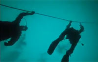 Special Forces Combat Divers in Action