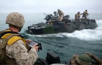 Marines and their AAVs