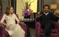 'Aloha' Interview: Emma Stone and Bradley Cooper