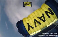 Leap Frogs Jump into Navy Week!
