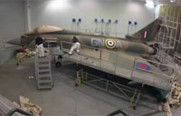 RAF Typhoon Gets Classic Paint Job