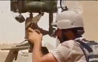 Iraqi Soldiers Blow Up SVBIED with ATGM