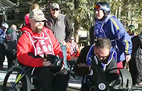 National Disabled Vets Winter Sports Clinic Pt 1