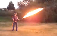 Homemade Flame Thrower