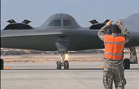 B-2 Bomber at Whiteman AFB