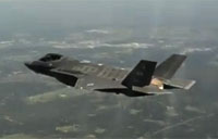 F-35A Lightning II Flies Over Texas