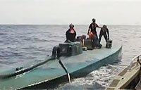 Coast Guard Catches Sub with Cocaine