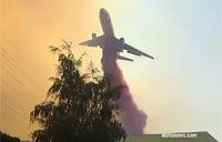 Hit by Flame Retardant from a DC-10