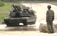 M1A2 Abrams at the Range