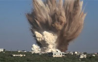 Tunnel Bomb Explodes in Syria