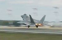 F-22 Raptors Stealth Leave Germany
