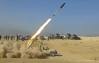 Iraqi Rocket Attack Against ISIS