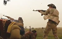 Frontline Fighting with Iraqis