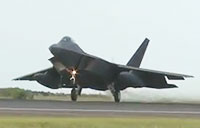 F-22's Deploy for Middle East