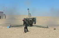 Iraqi Militia Pound ISIS with Howitzers