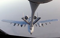 Aerial Refueling of B-1 & A-10