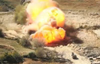 M58 Mine Clearing Line Charge