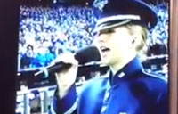 Airman Sings 'God Bless America' at World Series