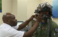 Getting Fitted for F-35 Gen III Helmet