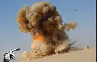 AT-4 Destroys ISIS Car Bomb