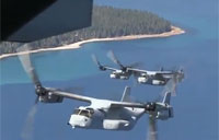 USMC MV-22 Ospreys