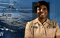 LCDR LaDonna Simpson, Surface Nuclear Officer