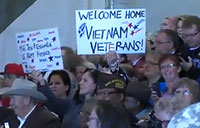 Vietnam War Veterans Welcomed Home