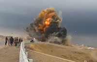 Massive Explosion by ISIS VBIED