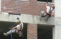 Air National Guard Rappelling
