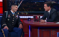 Late Night with Florent Groberg