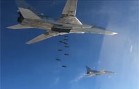 Russian Bombers Over Syria