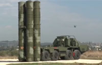 Russian S-400 Anti-Aircraft Missiles