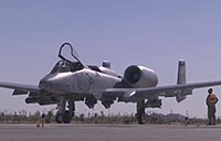 A-10 Warthogs Take Off