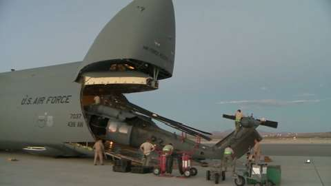 how much can a c5 galaxy hold military com