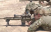 Army Sniper Candidates in Training