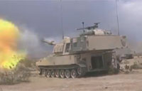 Fort Irwin Soldiers on the Range