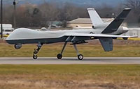 Army Drone at Syracuse Airport