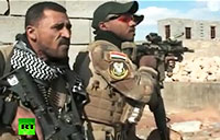 Iraqi Troops Clash with ISIS