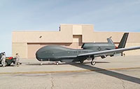 Air Force RQ-4B Global Hawk Takeoff