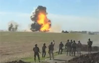 Peshmerga Blow Up Incoming VBIED