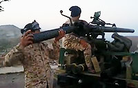Iraqis Fire M40 at ISIS
