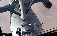 KC-130 Refuels B-1 & RAF Typhoon