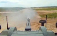 Unmanned Combat Vehicle Live Firing